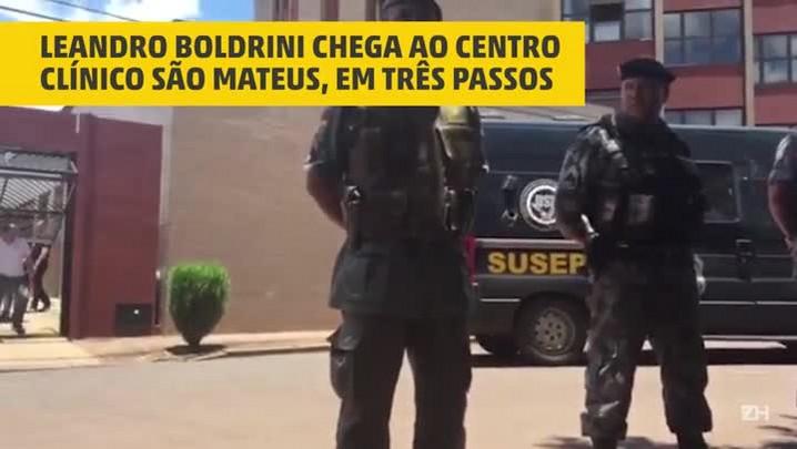 Caso Bernardo: Leandro Boldrini chega para reconstituição da morte de Odilaine Uglione