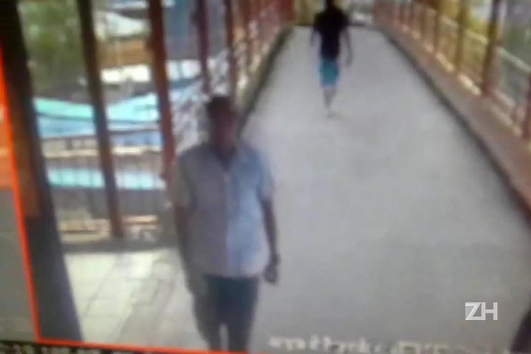 Polícia Civil divulga imagens do suspeito de matar jovem na Serra