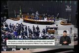 Deputados Nelson Marchezan Júnior (PSDB) e Pedro Pimenta (PT) batem boca no Congresso