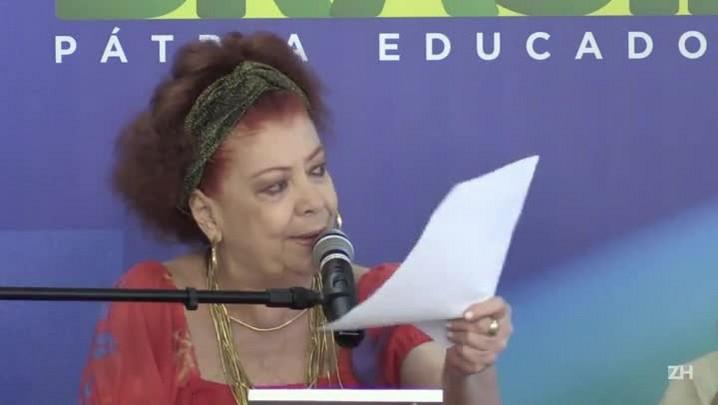 Artistas apoiam Dilma