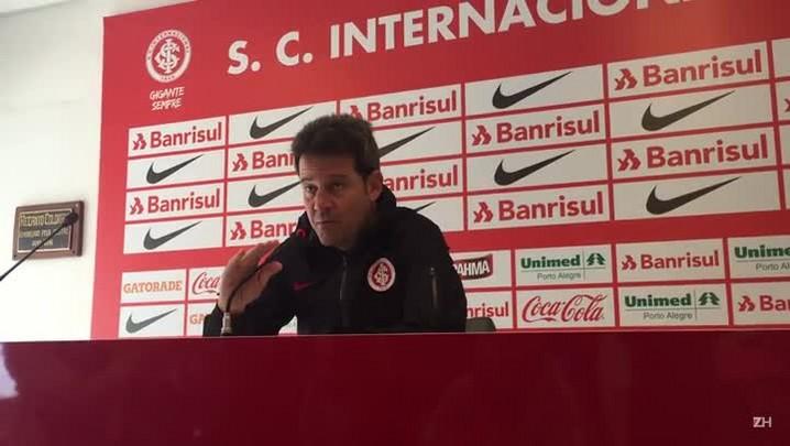 Argel projeta Inter ofensivo diante do Juventude