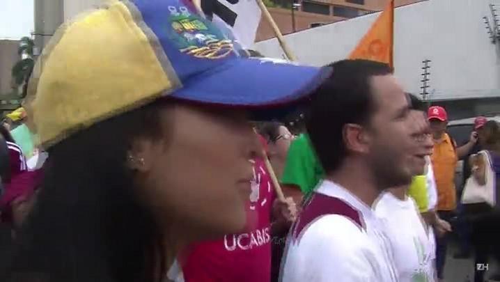 Opositores advertem sobre implosão na Venezuela