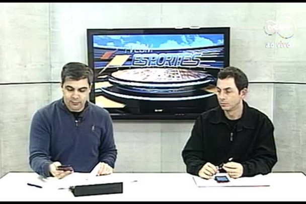 TVCOM Esportes. 2º Bloco. 19.08.16
