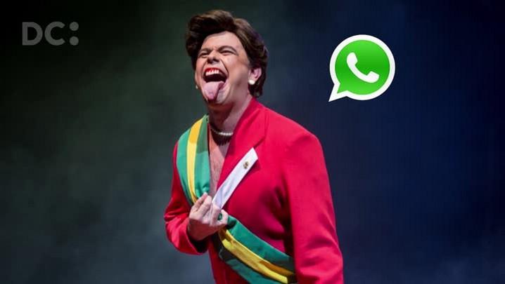 Carioca sobre o espetáculo Dilma Ducheff: como é criado um personagem