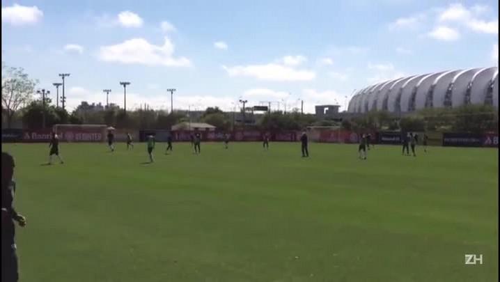 Celso Roth esboça Inter que pode enfrentar o Santos pela Copa do Brasil