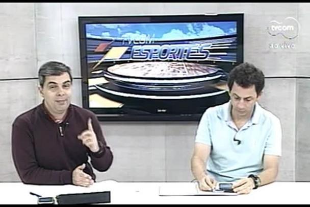 TVCOM Esportes. 4º Bloco. 28.09.16