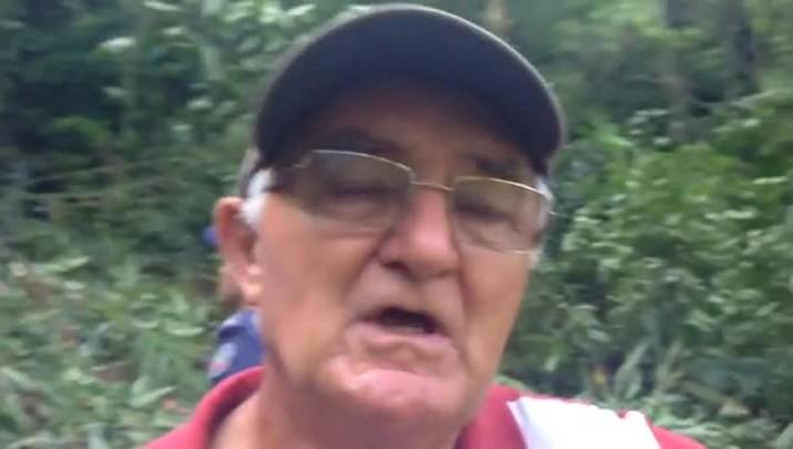 Rolf Rothbarth, 64 anos, ex-presidente da Associação Agrícola, fala sobre o acidente
