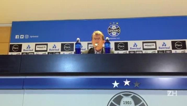 Odorico Roman fala sobre a situação de Bolaños no Grêmio