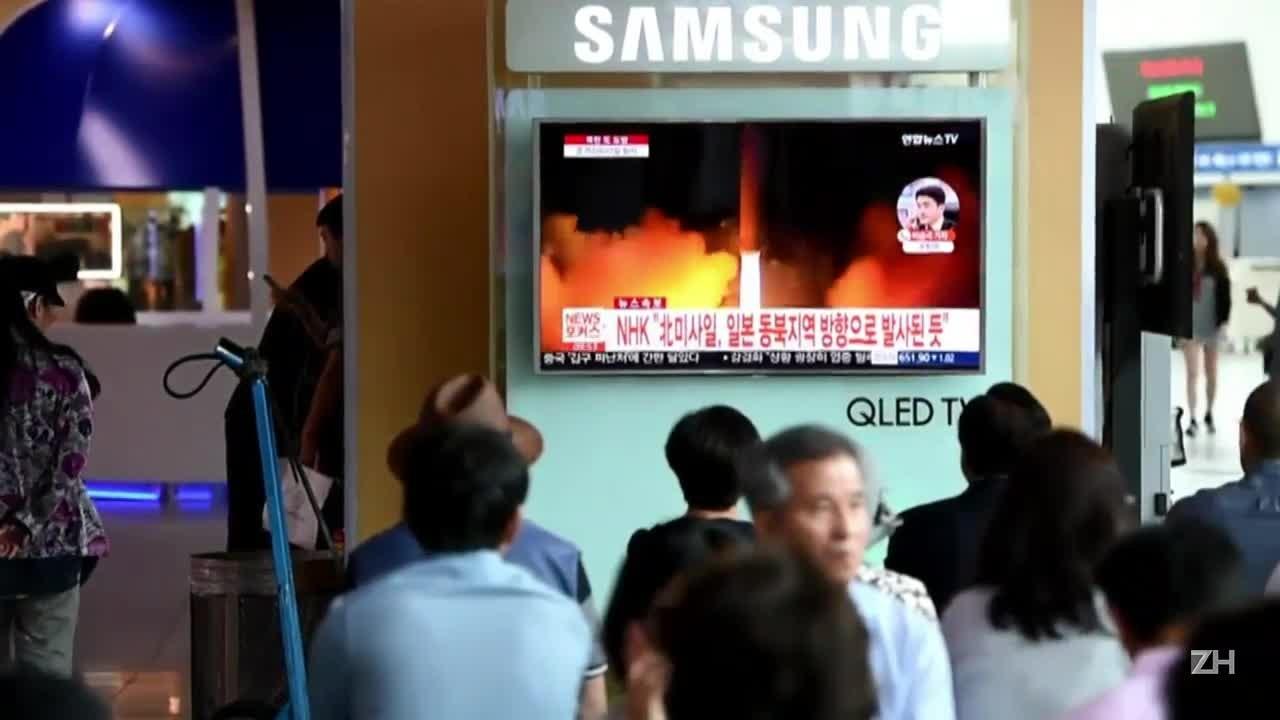EUA condenam lançamento de míssil norte-coreano