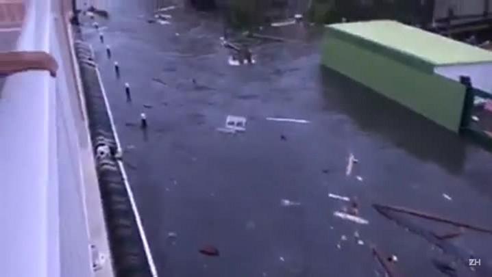 Irma é rebaixado para categoria 4
