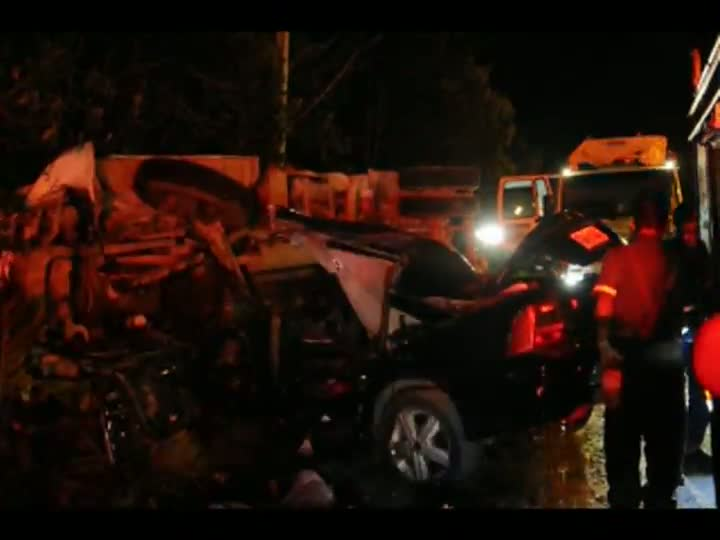 Três pessoas morrem na SC-301 em São Francisco do Sul