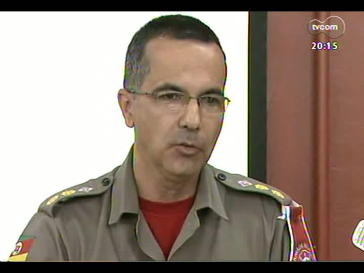 TVCOM 20 Horas - Tragédia em Santa Maria: autoridades dão mais explicações - 30/01/2013 - Bloco 2