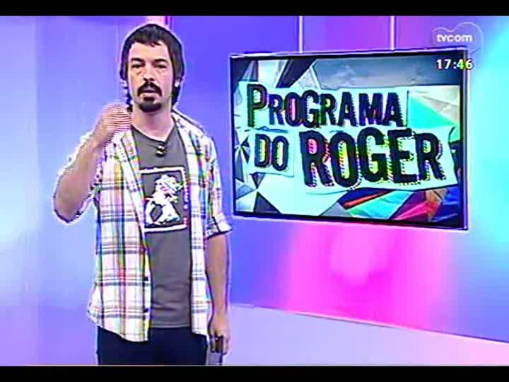 Programa do Roger - Confira a participação de Clarissa Mombelli - bloco 1 - 20/02/2013