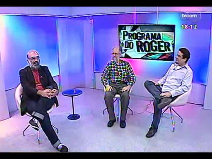 Programa do Roger - Entra em cartaz exposição \'Circulando linhas\' - bloco 3 - 25/03/2013