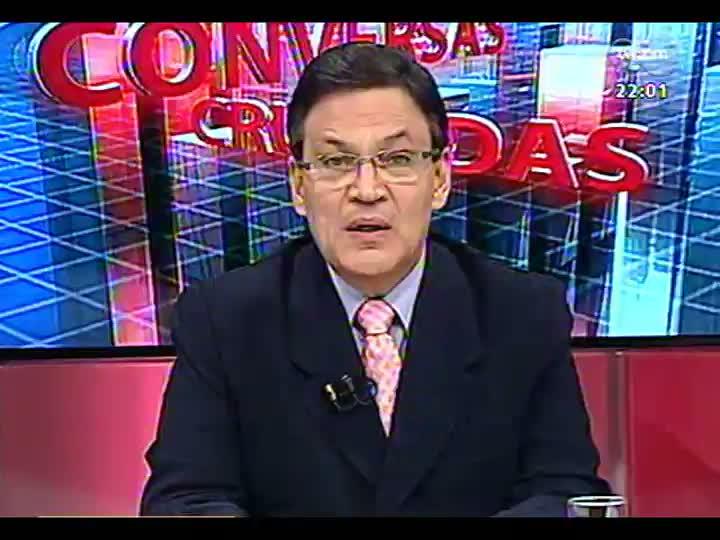 Conversas Cruzadas - Tranferência do governo estadual de mais de R$ 4 bilhões dos depósitos judiciais - Bloco 1 - 03/04/2013