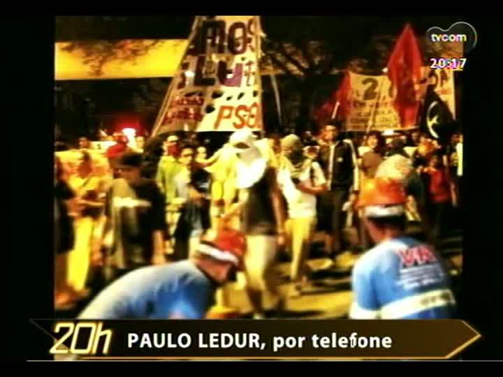 TVCOM 20 Horas - Mobilização nacional contra a PEC da Impunidade - Bloco 3 - 11/04/2013