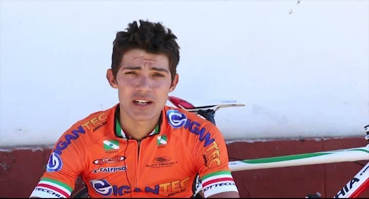 Entrevista com o vencedor da terceira etapa do Tour de SC