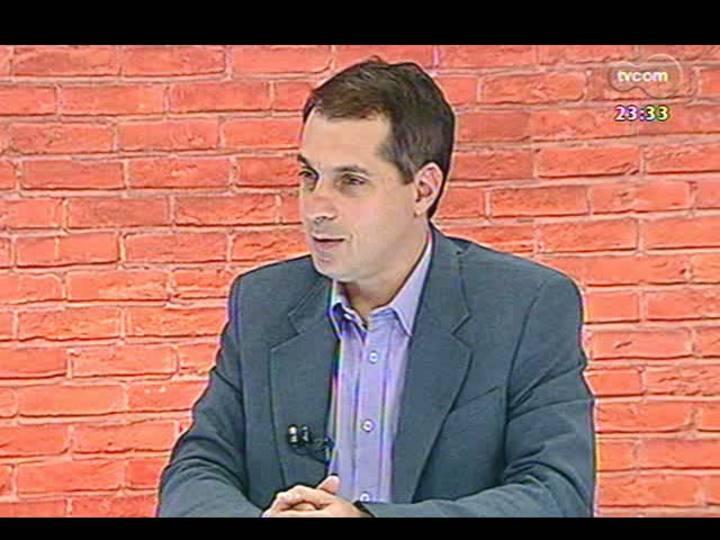Mãos e Mentes - Editor de Copa da Zero Hora, Rodrigo Müzell - Bloco 1 - 22/05/2013
