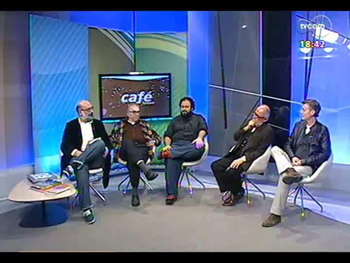 """Café TVCOM - Café TVCOM Especial \""""1 ano para a Copa\"""" - Bloco 4 - 13/06/2013"""
