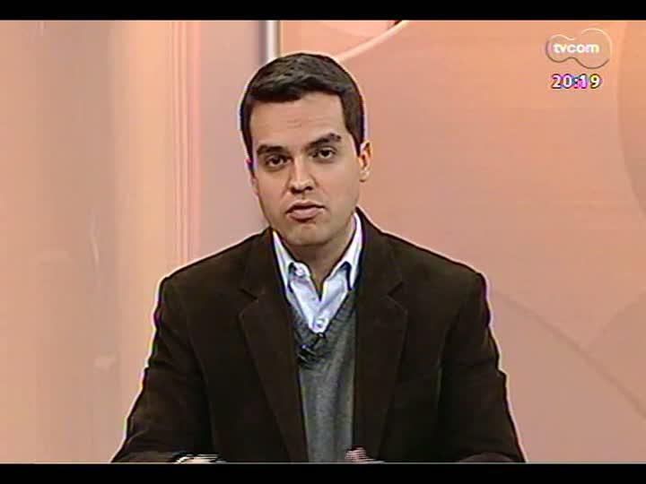 TVCOM 20 Horas - Secretário da Saúde fala sobre supostas irregularidades no exercício da função de médico do presidente da Câmara, Thiago Duarte - Bloco 2 - 26/07/2013