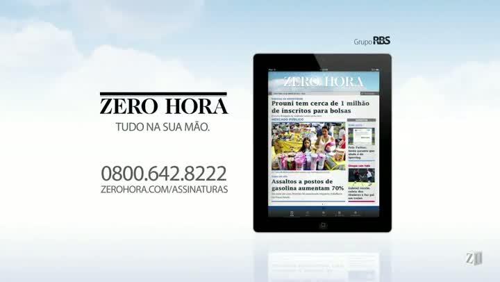 Leia na Zero Hora desta quarta-feira (14/08/2013)