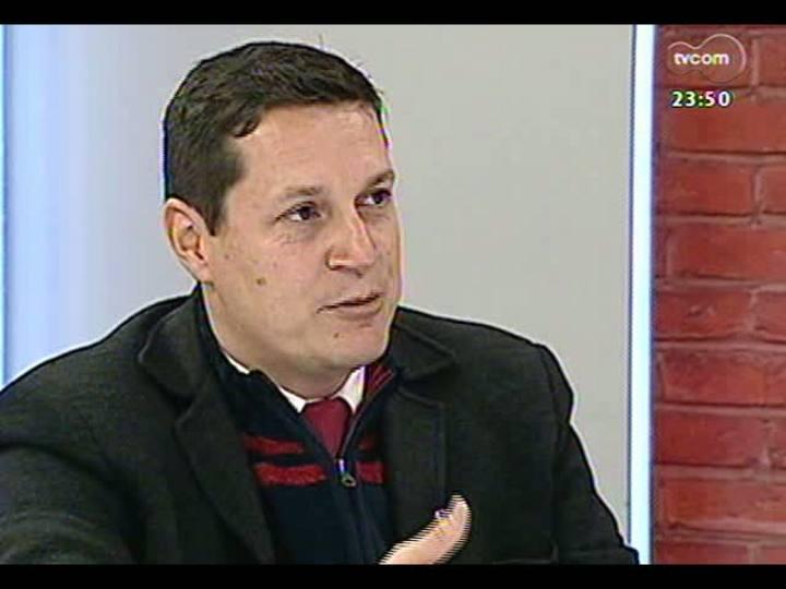 Mãos e Mentes - Coordenador executivo do Comitê Gestor da Copa no Estado, Maurício Nunes - Bloco 4 - 28/08/2013