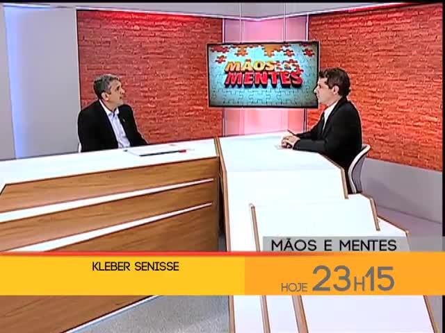 Chamada - Mãos e Mentes - Kleber Senisse, coordenador da Câmara Temática de Segurança da Copa do Mundo, é entrevistado no Mâos e Mentes