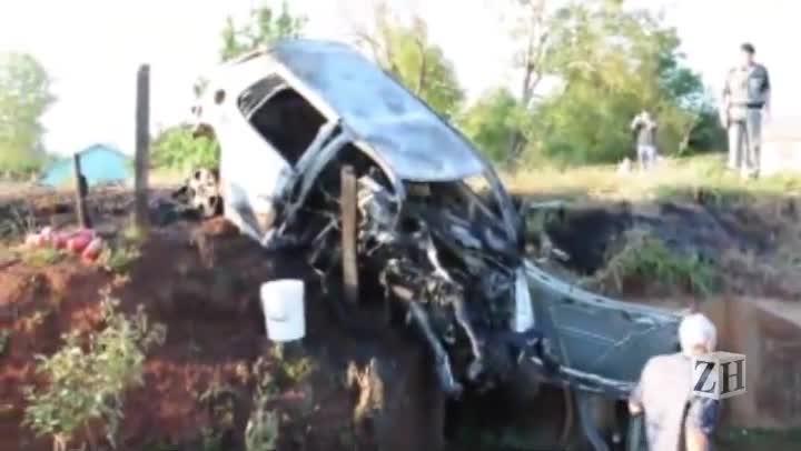 Cinco jovens morrem em acidente no noroeste do Estado