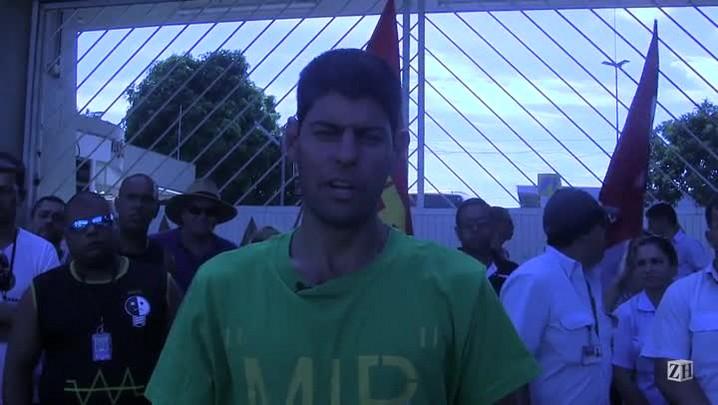 Representante dos rodoviários fala sobre as reivindicações do movimento