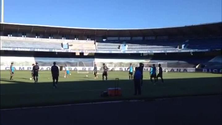 Confira o treino do Grêmio na tarde desta sexta-feira (21/03/2014)