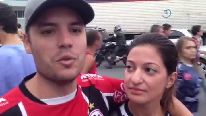 Pós-jogo: torcedor comenta resultado de JEC x Criciúma