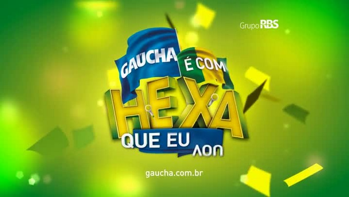 É com Hexa que eu vou: veja vídeo da campanha da Gaúcha para a Copa