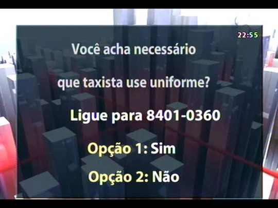 Conversas Cruzadas - Debate sobre o uso de uniforme pelos taxistas em POA - Bloco 3 - 26/05/2014