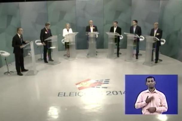 Debate com os candidatos ao senado - 1º Bloco - 29/09/14