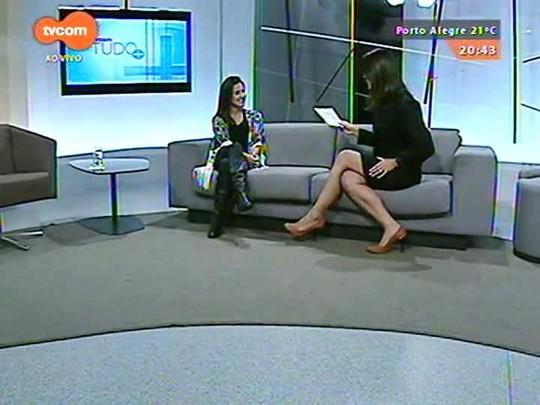 TVCOM Tudo Mais - Fernanda Pandolfi, do blog Rede Social, fala sobre o jantar da Embaixada Gourmet
