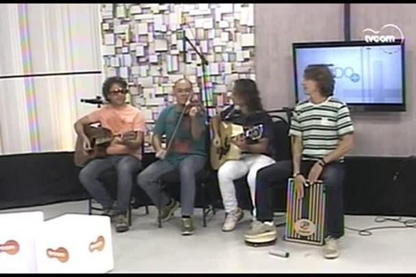 TVCOM Tudo+ - Cultura musical catarinense Dazaranha e Grupo Sambaí - 01.05.15
