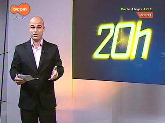 TVCOM 20 Horas - Novos trens da Trensurb estão há mais de um mês fora de operação e não tem prazo para voltarem a circular - 11/05/2015