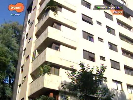 TVCOM 20 Horas - Deic investiga assalto a prédio no bairro Rio Branco, em Porto Alegre - 18/05/2015