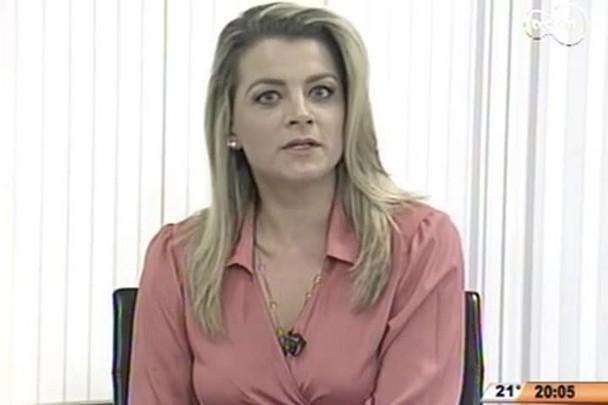 TVCOM 20 Horas - Angela Albino fala sobre o acolhimento dos imigrantes haitianos e senegaleses em SC - 25.05.15
