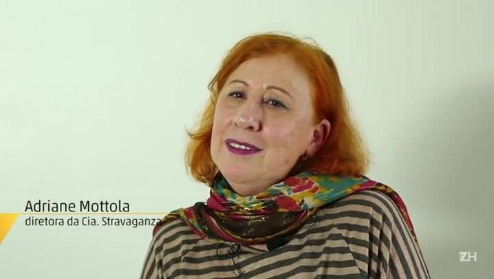 Adriane Mottola é a madrinha do POA em Cena