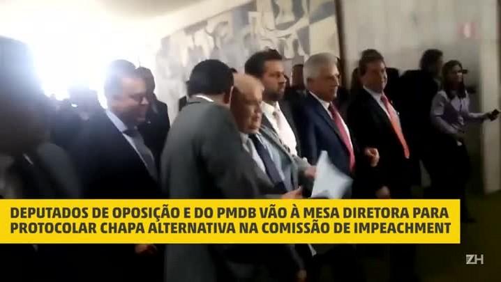 Chapa alternativa, a favor do impeachment, reúne partidos da base e de oposição