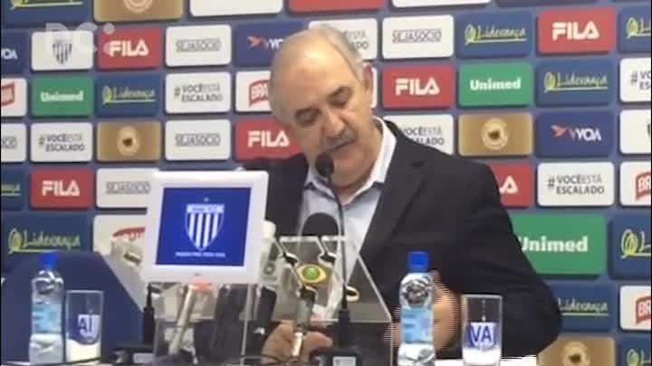 Presidente Nilton Macedo Machado justifica a queda do Avaí para a Série B