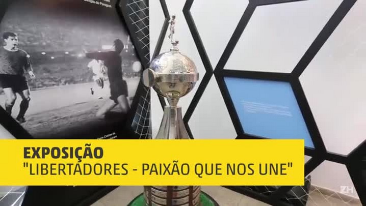 Exposição destaca história da Libertadores
