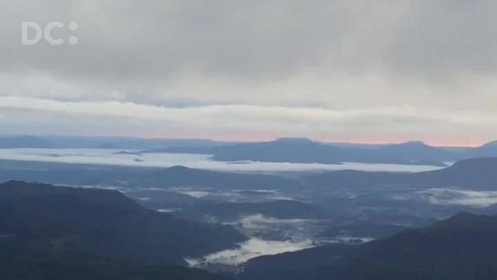 Frio e geada na Serra Catarinense