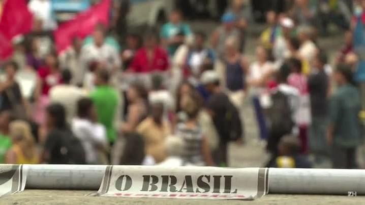 Rio tem confusão entre manifestantes pró e contra impeachment