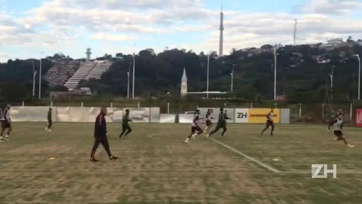 Inter faz o último treino antes de enfrentar o São Paulo