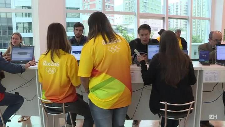 Rio 2016 abre bilheterias