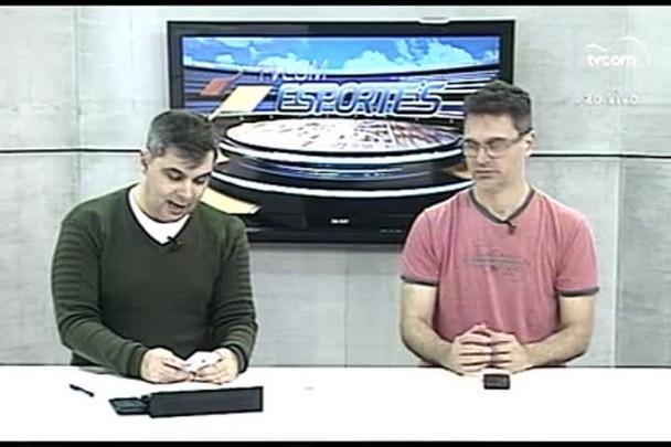 TVCOM Esportes. 4º Bloco. 05.07.16