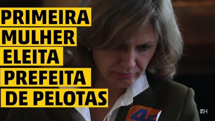 Primeira mulher eleita prefeita em Pelotas, Paula Mascarenhas fala dos desafios que a esperam