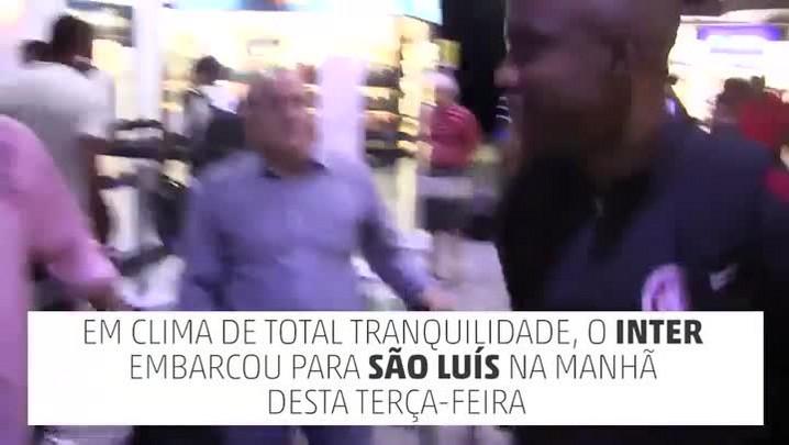 Inter embarca para o Maranhão